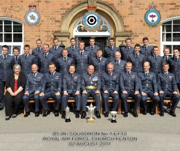 85(R) Sqn disbands